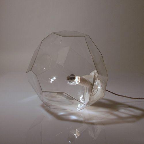 Innermost - Asteroid - Glas - Bord/Gulv lampe