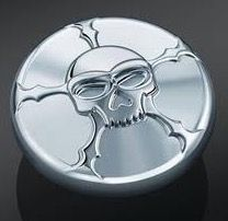 Kuryakyn Zombie Skull Fuel Cap
