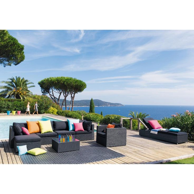 Pinterest\'teki 25\'den fazla en iyi Pouf maison du monde fikri ...