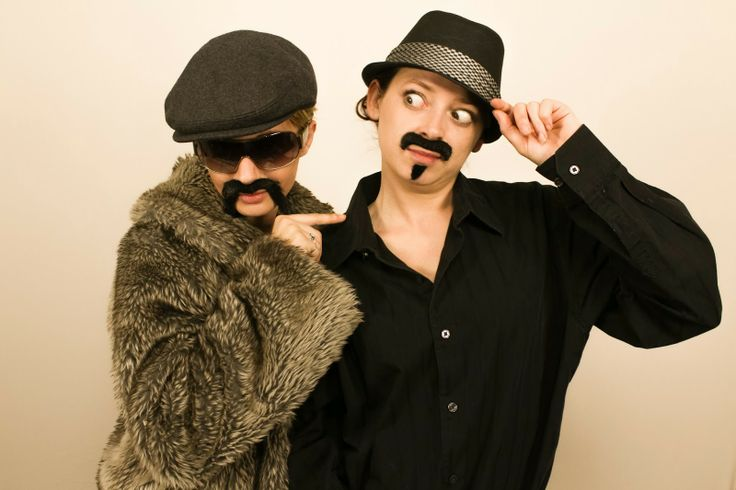 Phantasmagoria Productions: Chow and Rico from Bartenders Rule the Universe
