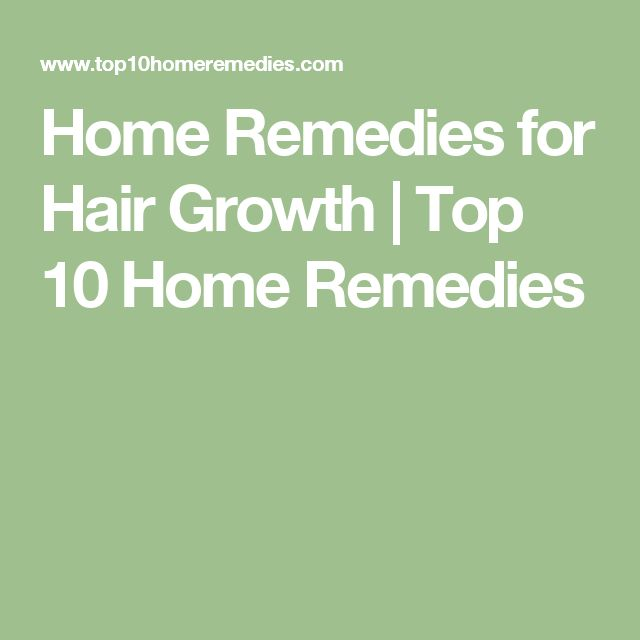 Home Remedies for Hair Growth | Top 10 Home Remedies