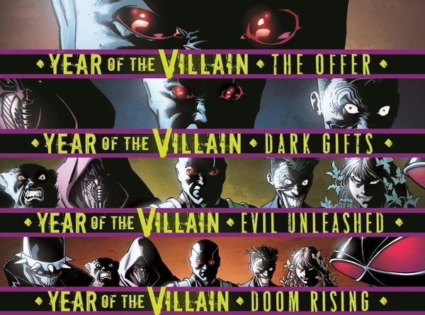 Year Of The Villain Reading Order Guide In 2020 Villain Justice League Dark Comic Villains