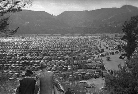 The George Mann Archive- Rose Bowl Game Parking, Pasadena, California - 1936