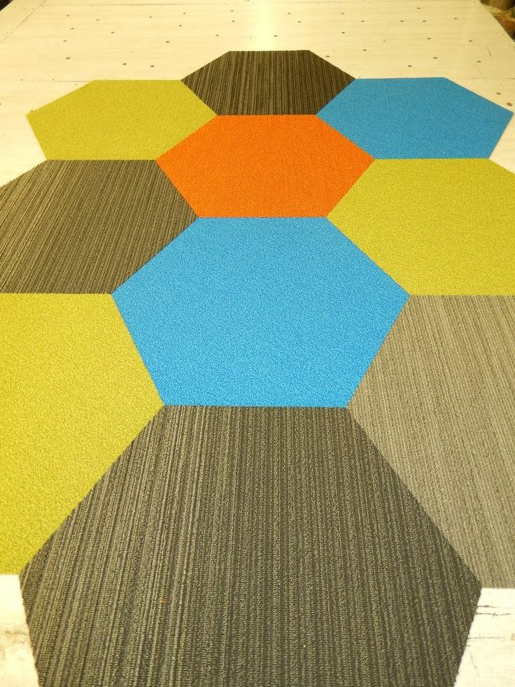 11 Best Images About Hexagon Carpet Tiles On Pinterest