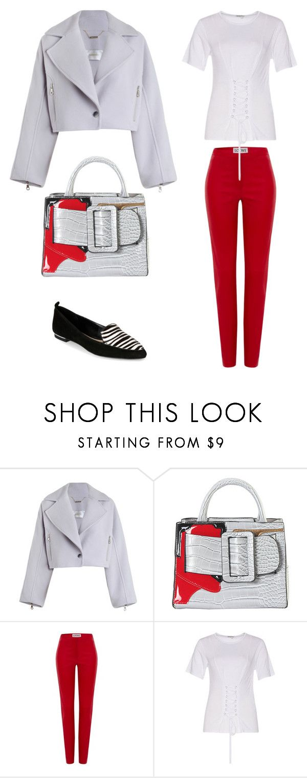 """""""Le freak c'est chic"""" by inaanna ❤ liked on Polyvore featuring Zimmermann, Diophy, Loewe and Jones New York"""