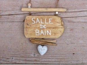awesome Idée décoration Salle de bain - Plaque salle de bain bois flotté - Les Grands Bancs