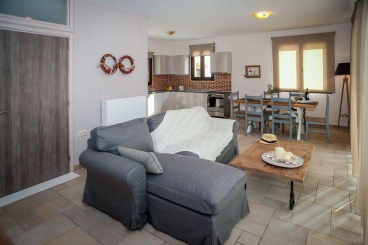 Living room of Villa Asterias