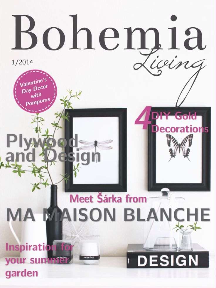February Issue Cover. Check it out on your iPad! www.bohemialiving.cz/english