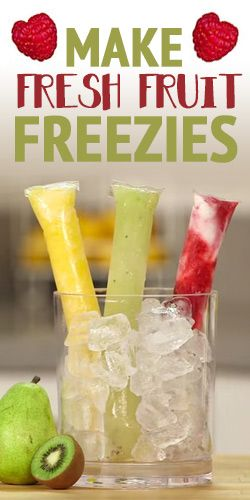 #HowTo: Make Fresh #Fruit Freezies