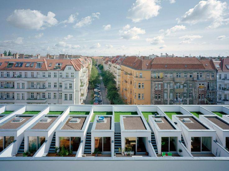 best architects architektur award // zanderroth architekten / BIGyard – Baugruppenprojekt Zelterstraße 5 / best architects 14 / Wohnungsbau/...