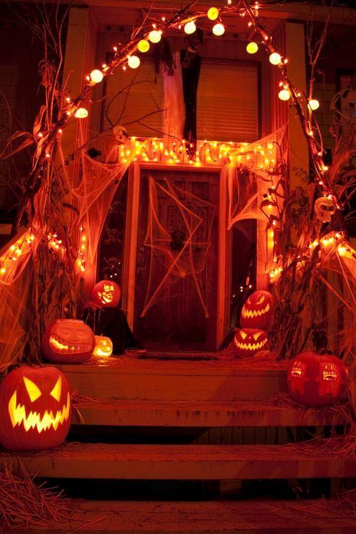 Halloween decorations : IDEAS & INSPIRATIONS porchlightsdecorationshalloween