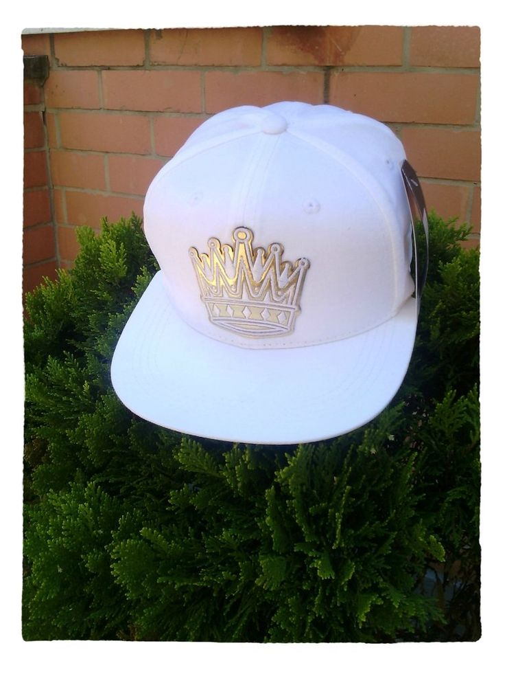 Gorra Blanca Corona Dorada - Comprar en Tienda Vitsa