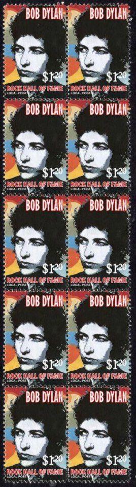 48-bob dylan stamps