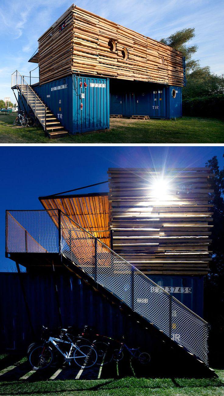 Les 25 meilleures id es concernant maisons containers sur for Chambre container