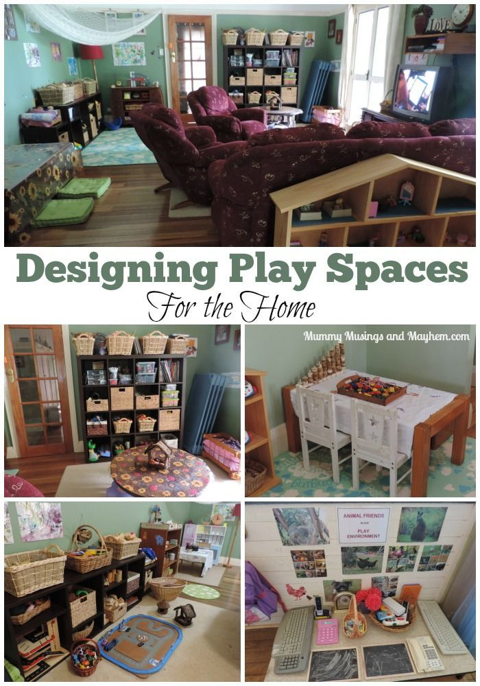 Designing play spaces for your home - part 1 of this series explores ideas and inspiration for indoors. Mummy Musings and Mayhem
