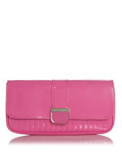 Ted Baker Clutch in neon roze € 85