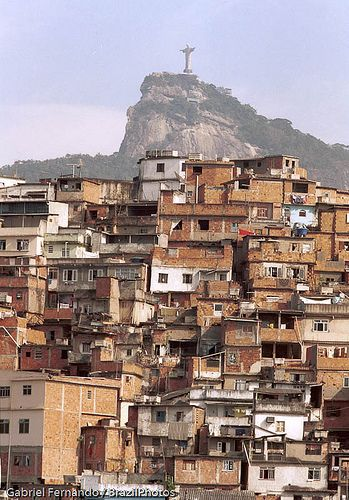 Coroa slum at Santa Teresa quarter, Rio de Janeiro, Brazil