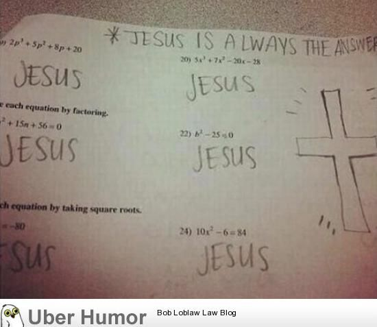 funny pictures. Going to a Christian school we definitely use this as a cop out.