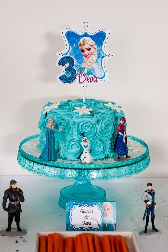 { Sweet Table } Anniversaire « Reine des Neiges » | Lilie Bakery