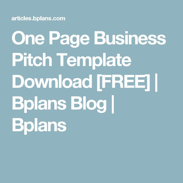 Best 25+ One page business plan ideas on Pinterest Simple - example of an action plan template