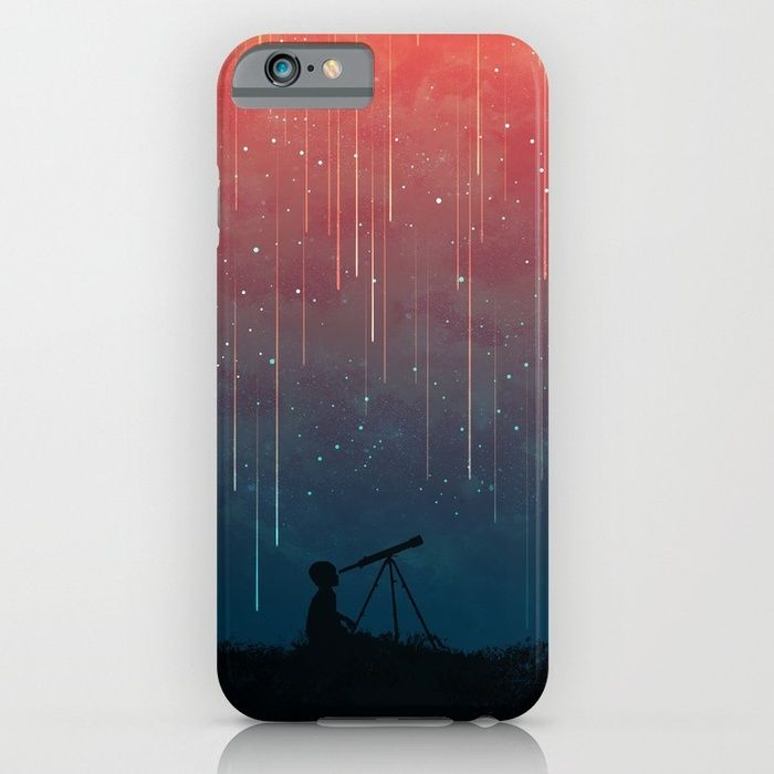 20% Off + Free Worldwide Shipping on Phone Cases Today! Meteor rain iPhone 7 & Samsung Galaxy S7 Case by Picomodi | Society6