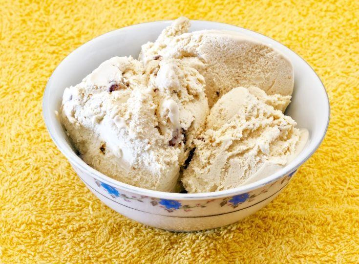 Oriešková zmrzlina