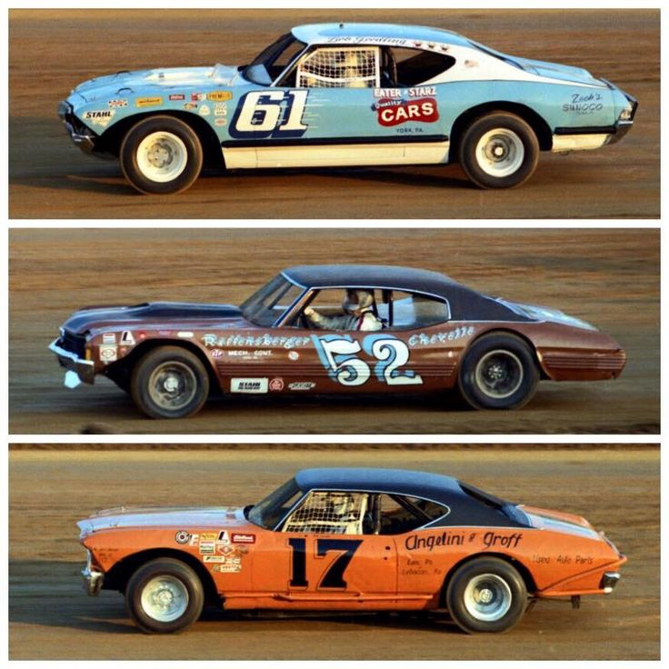 vintage dirt oval racing coupes