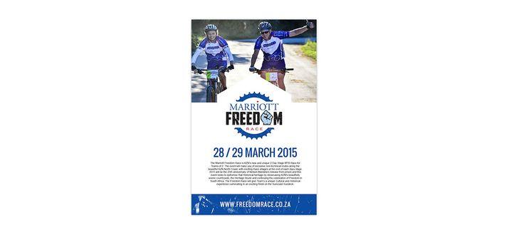 Freedom Race: Banding and Conceptual Development by Electrik Design Agency www.electrik.co.za/