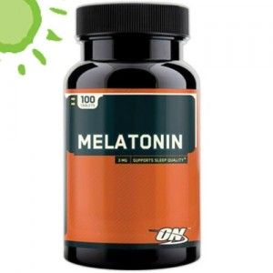 Optimum Nutrition Melatonina 3mg 100 Tabletas