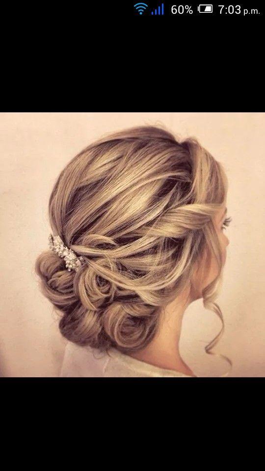 Mi peinado para la boda