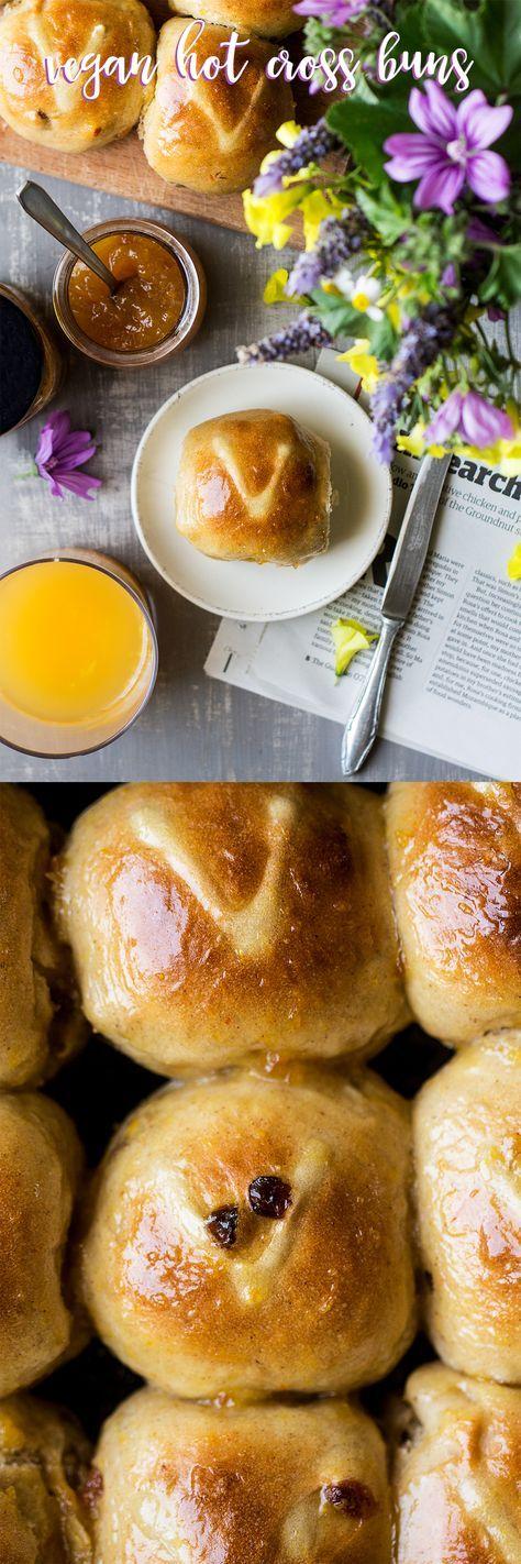 Vegan hot cross buns Recipe Vegan hot cross buns