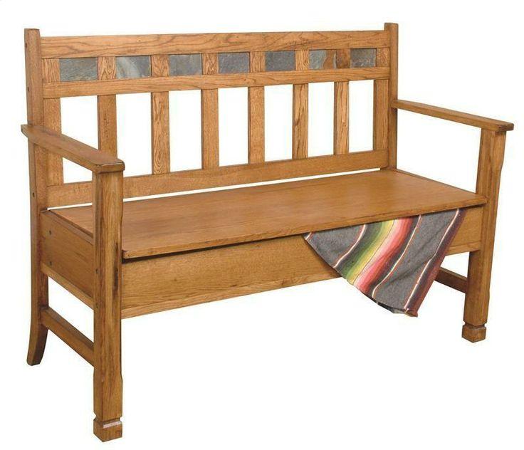 1594RO By Sunny Designs In Scottsdale, AZ   Sedona Bench W/ Storage/wooden