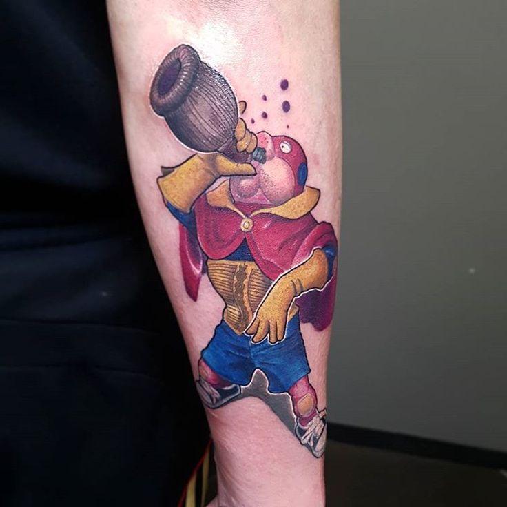 Nn sapevo l'esistenza di questo super cattivo ma sono stato contentissimo di tatuarlo  Lui è Superciuk!!!!!! #tattoo #tattoos #tattooed #art #tattooart #tattooartist #italiantattooartist #italiantattoo #besttattooartist #besttattoo #tattooitalia #tattoolife #ink #inked #tattooinked #tattooink #tattoocolor #alanford #superciuk #instatat #instamag #instatattoo #instattoos #tattoolife #newschooltattoo #newschooltat #newschool #tattoomadeinitaly #