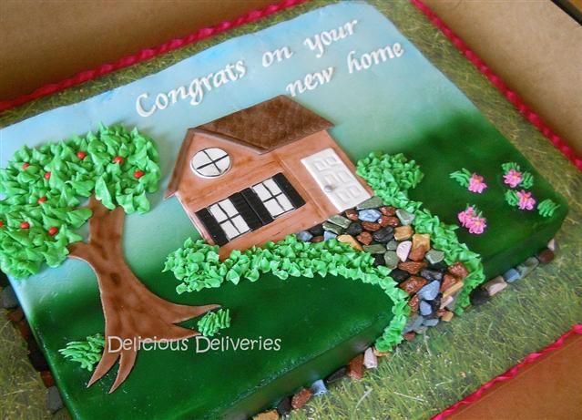 Cake Decorating Ideas For Housewarming : housewarming cakes House Warming Sheet Cake New Home ...