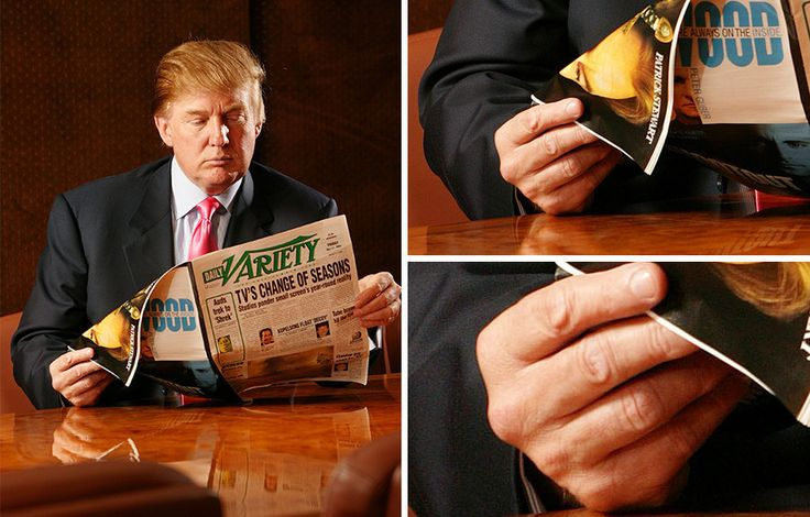 17 Pictures Of Donald Trump's Not At All Below Average-Sized Hands