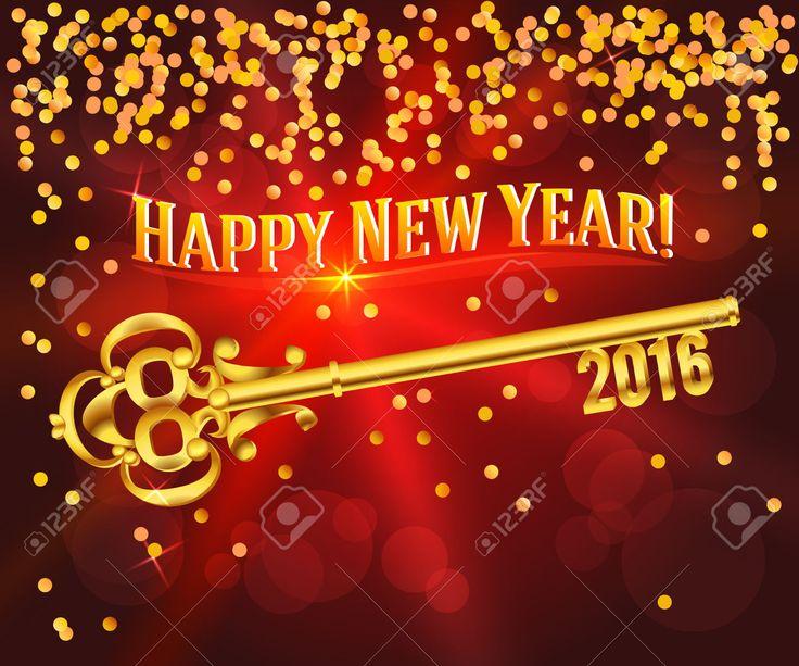 Happy New Year 2016 Banner