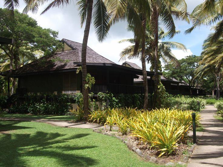 #Travel:  Resort accommodation - bure - #Sonaisali Island Resort, #Fiji.  Photo credit: Dawne Rudman