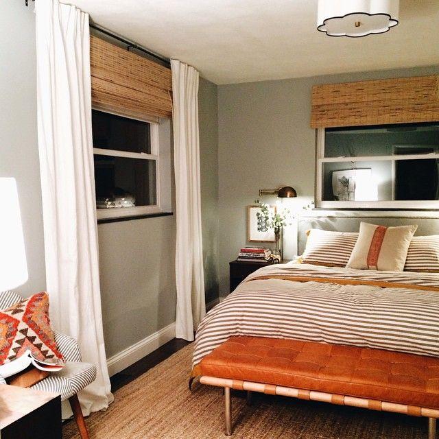 1000 images about bedroom re do on pinterest bedside lamp navy headboard and white linen. Black Bedroom Furniture Sets. Home Design Ideas