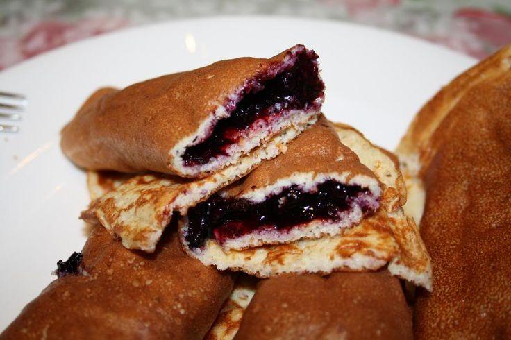 Glutenfrie og sukkerfrie pannekaker! Oppskriften inneholder hverken hvitt mel eller sukker og passer derfor utmerket for deg med diabetes!