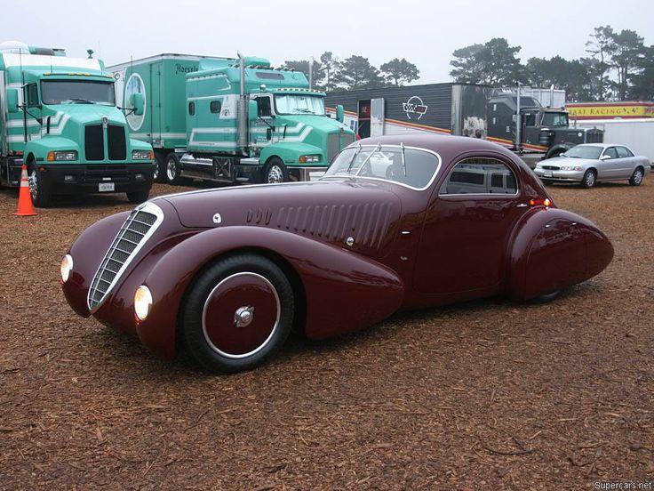 Alfa Romeo 8C 2300 Coupe Viotti 1932. Vintage CarsVintage ...