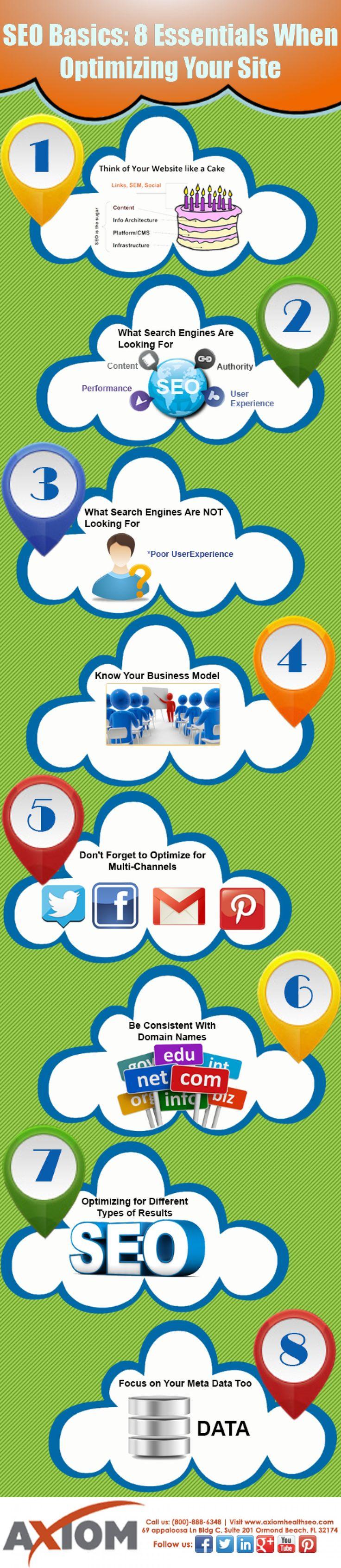 #SEO Basics: 8 Essentials When Optimizing Your Site - Via Pmesocial