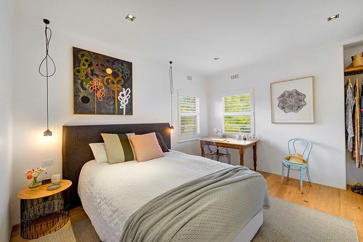Master Bedroom : 5/119 Victoria Road, Hawthorn East