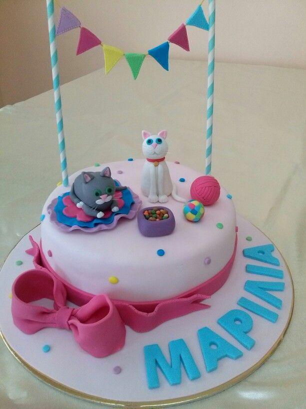 cats birthday cake