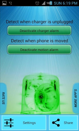 handset theft monitoring android