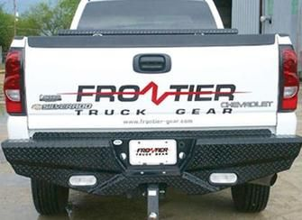 Frontier Truck Gear Diamond Steel Rear Replacement Bumper