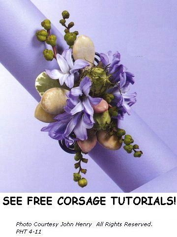 how to make your own corsage