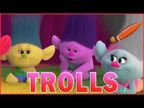 Trolls Movie Coloring Pages Baby Trolls Poppy And Branch Kids Coloring Book Youtube Kids Coloring Book Kids Coloring Books Poppy And Branch