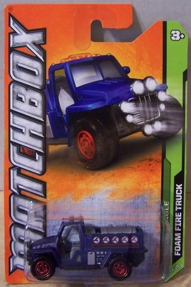 Volvo Truck Parts >> ctd-Matchbox 2012 #105/120 Foam Fire Truck-blue   Fire trucks and Diecast