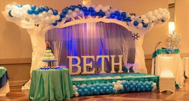 Frozen Stage Decoration