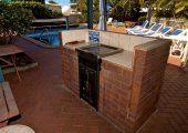 Carrington Court - BBQ Area - Main Beach Accommodation